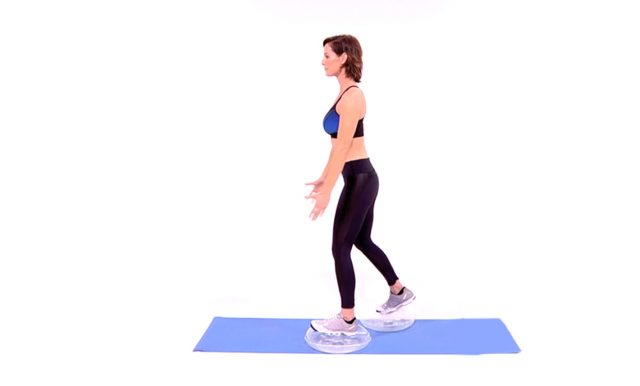 Challenging body Moves workout
