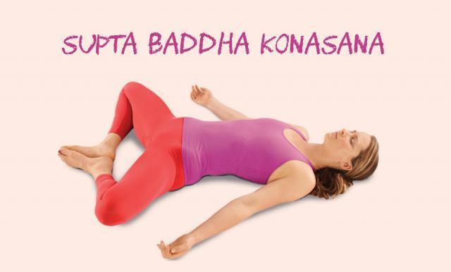 Supta Baddha Konasana yoga