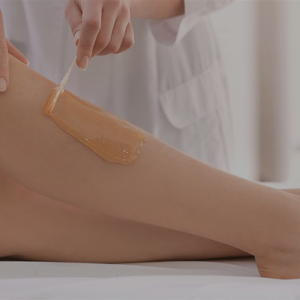 leg waxing spa