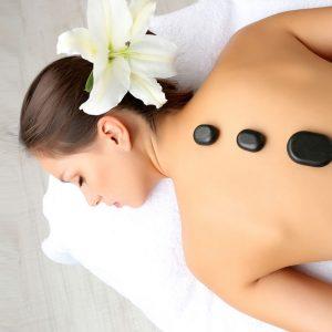 hot stone massage spa